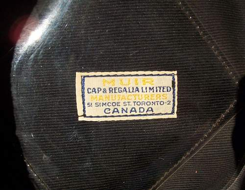 Click image for larger version.  Name:Rogatywka cap - PSZnZ Canada made - label.jpg Views:169 Size:108.5 KB ID:146226