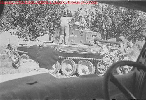 Cromwell tank in 2nd Polish Armoured Brigade?