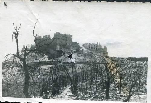 5 zdjęć po bitwie o Monte Casino