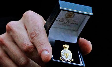 HM Armed Forces Veteran Badge
