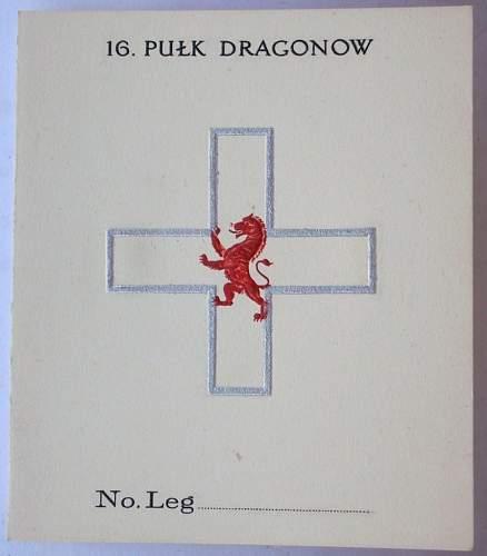 Click image for larger version.  Name:16 Pulk Dragonow  legitymacja blanco.jpg Views:124 Size:81.1 KB ID:166143