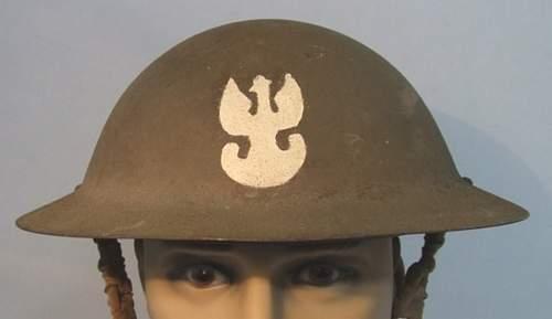 Free polish army Insignia