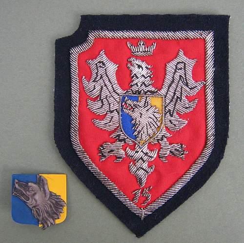 Polish Armed Forces veteran ties