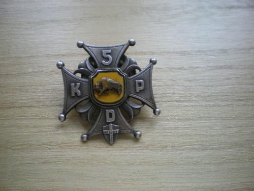 5th Kresowa badge, original?