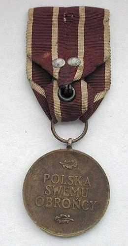 Click image for larger version.  Name:pszz war medal rev.jpg Views:26 Size:116.2 KB ID:205500