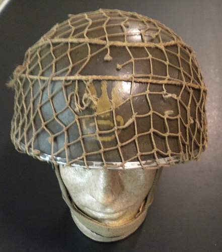 Polish Exile helmet Eagles