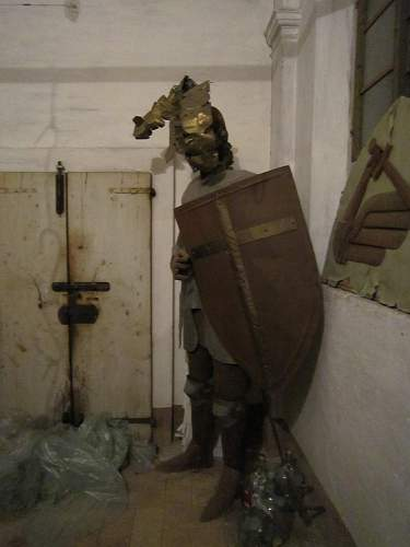 Discovery in Potenza Picena, former 4th Skorpion garrison.