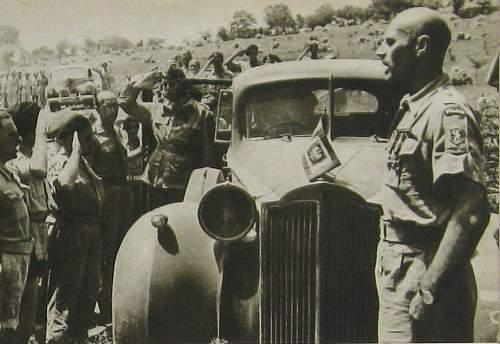 1st Polish Armoured Division Vehicle Flag - ?
