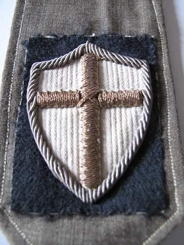 5th Kresowa Dywizja Piechoty epaulette slip ons