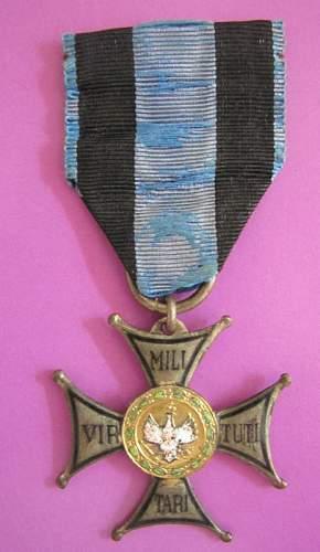 Poland - Polish Virtuti Militari 5th Class <> Numbered