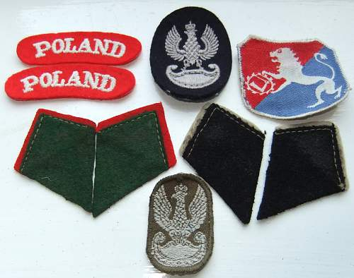 Polish badges - are they genuine