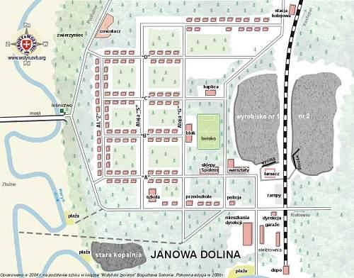 Janowa Settlement location