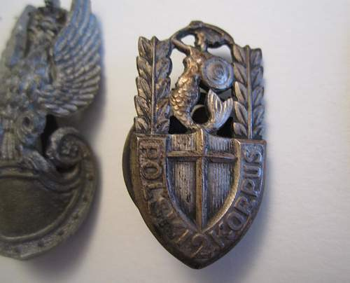 My late father-in-law's Krzyż Walecznych (Cross of Valour)