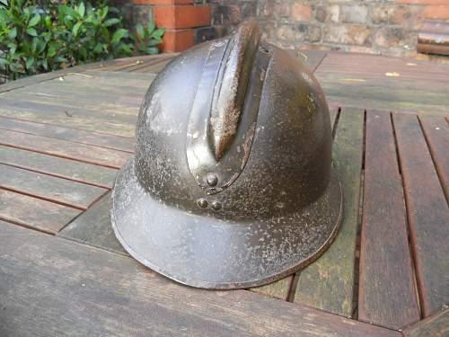 Polish Adrian helmet for evaluation