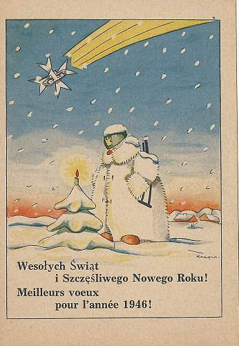 """Merry Christmas"" - Polish WW2 memento's"