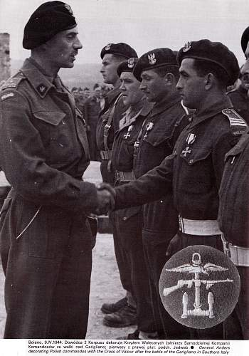 Click image for larger version.  Name:Anders decorates Commandos with KW - Italy 1944.jpg Views:366 Size:264.2 KB ID:286758