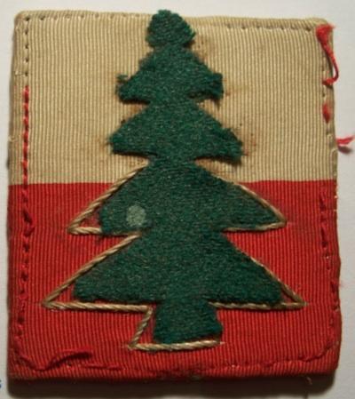 2 cloth badges to savour