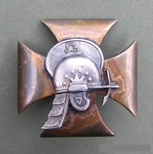 1 Pułk Rozpoznawczy - 1st Recon Regiment breast badge