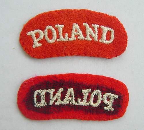Click image for larger version.  Name:Polish shoulder titles..jpg Views:427 Size:183.6 KB ID:29589