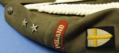 Polish Lt. Tunic