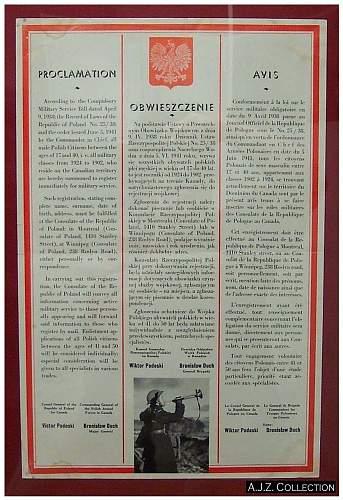 Click image for larger version.  Name:Obwieszczenie 1941 PSZnZ Kanada aa.jpg Views:261 Size:220.3 KB ID:305837
