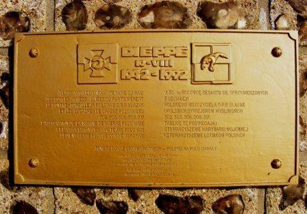 Name:  Polish Dieppe Raid plaque.jpg Views: 597 Size:  37.0 KB