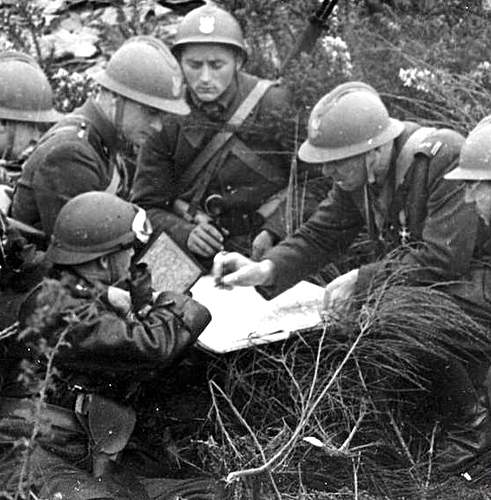 Polish soldiers in France 1940