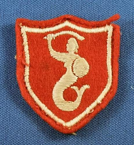 New aquisitions - WW2 Polish Badge and Patches