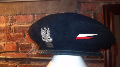 WW2 Polish Armoured black beret