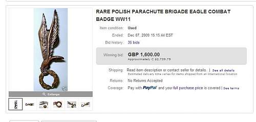Question on Authenticity - 1st Independent Polish Paratrooper Brigade