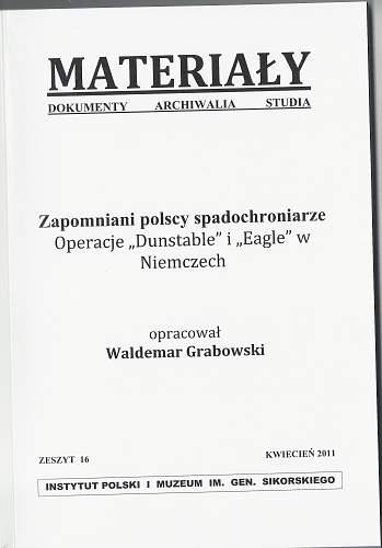 Seeking information on my Granddad - A Polish Paratrooper