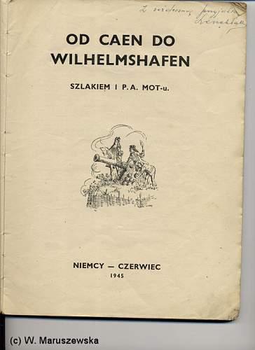Book: Od Caen do Wilhelmshafen