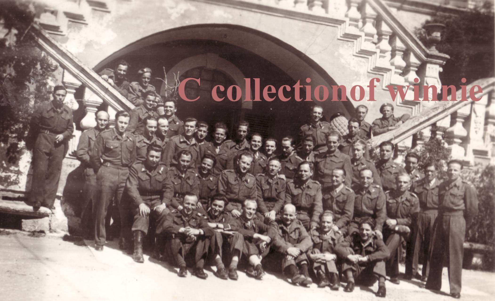 Recognise anyone? Naples 25 April 1945