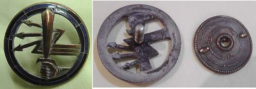 Polish Signals Badge and the British Connection