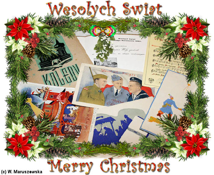 how to write merry christmas in polish