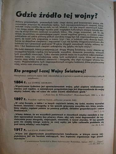Po co ta wojna  - Why this War