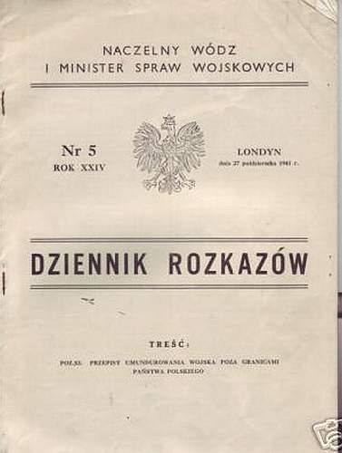 Click image for larger version.  Name:Dziennik Rozkazow Oct 27, 41.jpg Views:75 Size:36.0 KB ID:462998