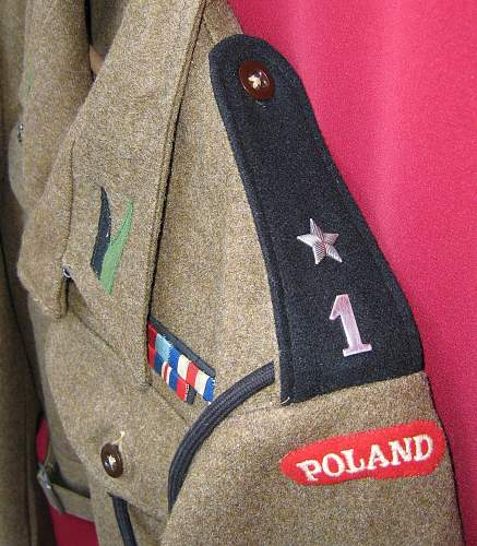Polish Artillery Badges/Patches/shoulder titles,etc,etc