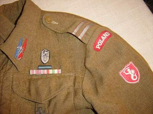 Polish Carpathian lancers Battledress