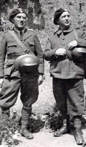 French Adrian helmet with Polsih Insignia / Eagle