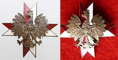1 Krechowiecki Lancers Regiment Badge