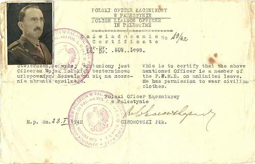 Click image for larger version.  Name:Polish officer ID.Pal.42..jpg Views:160 Size:153.4 KB ID:494755