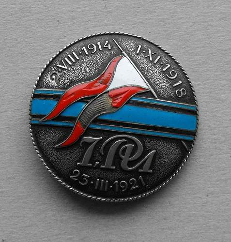 Polish regimental badges opinions please
