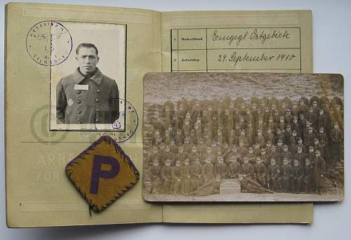 Great-Grandfather was in the Polish army.