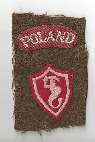 2nd Corps Syrenka and Poland Patch