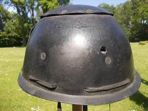 British crash helmet with Polish insignia - opinions needed