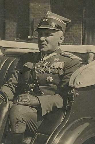 Click image for larger version.  Name:pplk Jerzy Glinski Dowodca 8 Batalionu Pancernego 1938 r.jpg Views:351 Size:68.6 KB ID:53628