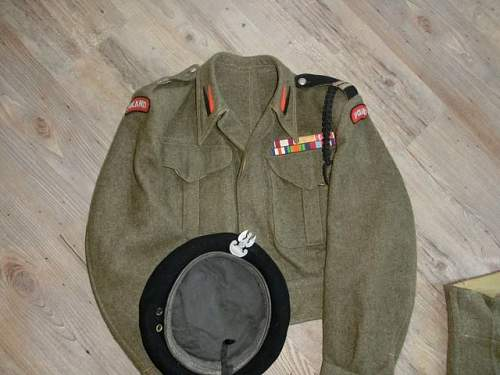 Polish battledress