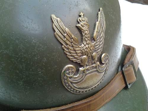 Polish  M26 Adrian helmet  for opinion