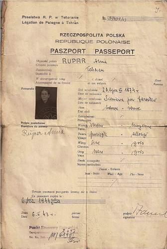 Polish documents used in Iran